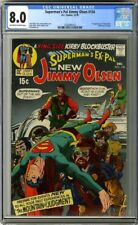 Superman's Pal Jimmy Olsen #134 CGC 8.0 DC 1970 1st Darkseid! Cameo! G11 110 cm