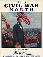 "Mort Kunstler Collectible ""Civil War North"" Postcards"