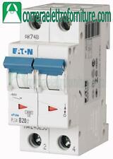 Interruttore magnetotermico 2P 20A 2 moduli 4,5KA EATON 243279