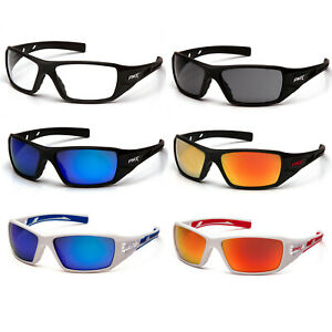 Pyramex Velar Safety Glasses Sunglasses Work Eyewear Choose Lens Color ANSI Z87+