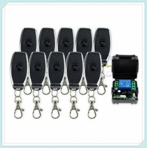 Wireless Remote Control Switch System 12V 1CH Transmitter&Receiver Access 315MHz