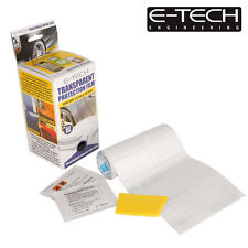 E-Tech Transparent Car Bodywork Stone Chip, Scratch & Scruff Protection Film