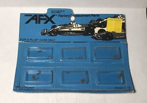 NOS MOC 1979 Aurora AFX #8909 G-plus Commuter Springs - Sealed Card as Shown