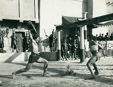 DAN VADIS  JOSE GRECI  URSUS GLADIATORE RIBELLE 1962 2 PHOTOS ORIGINAL LOT