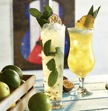 Tall Mojito Pina Colada Alabama Slammer Cocktail Glass 369ml Straight Sided 13oz