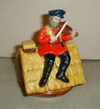 Vintage Price Import Fiddler On The Roof Music Box Plays Sunrise-Sunset Tevye
