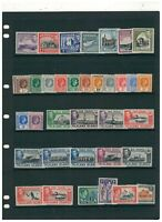 GVI.COMMONWEALTH LOT TO SORT MOUNTED MINT.CAT £350+ SEE PICTURE
