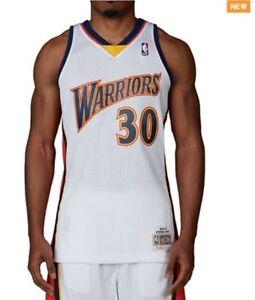 Stephen Curry #30 Golden State Warriors Mitchell & Ness Mesh Swingman Jersey