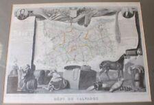 Antique European Maps & Atlases France 1800-1899 Date Range