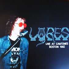 THE LYRES At Cantone's Boston 1982 LP . jeff connolly garage fuzztones morlocks