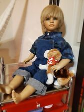 """Annette himstedt doll """"Timi"""" with Box/Coa"""