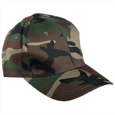 10bdffc890d Hunting Fishing Baseball Cap Hat Woodland Camouflage