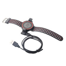 USB CHARGER CLIP CHARGING CABLE FOR GARMIN FORERUNNER 220 GPS WATCH PICKED