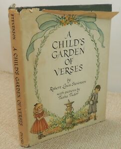 A Child's Garden of Verses by R.L. Stevenson first edition 1947  |Thames Hospice