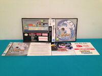Pokemon soul silver   nintendo DS case-manual  only FRENCH PAL