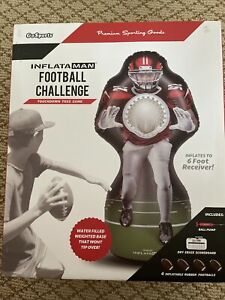 GoSports Inflataman Football Challenge - Inflatable Receiver Touchdown Toss Game