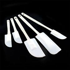 5PC plástico conjunto de mezcla Espátulas Repostería Cocina Utensilios de Cocina Cuchara Glaseado Tarta