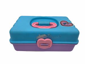 Tinkerbell Redbox Mini Makeup Box 1991 Rare Vintage Toy No 22102 Pastel Purple