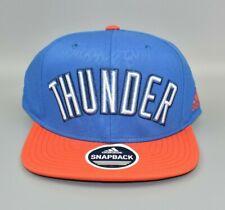 Oklahoma City Thunder adidas NBA Spell Out Men's Snapback Cap Hat