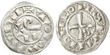 LANGUEDOC , COMTES  DE  TOULOUSE  ,  RAYMOND V , VI , VII  ,  OBOLE  ARGENT