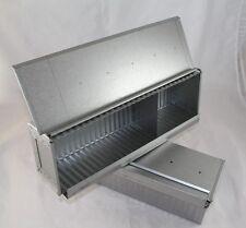 Toastbrotform, Kastenform, Brotbackform, m. Deckel, Stahl aluminiert, 36 cm lang