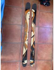 SkiLogik Goddess 168: Beautiful Wooden Skis