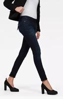 G-Star Raw Midge Cody Mid Skinny Jeans Paint Ladies Size UK W32 L32 *REF58-6