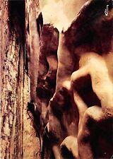 BR14661 les Grottes d Arcy sur Cure un coin des vagues de la mer   france