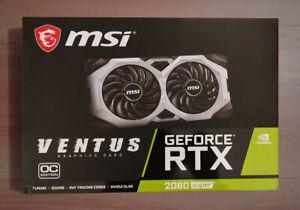 MSI GeForce RTX 2060 SUPER VENTUS OC 8GB GDRR6 Graphics Card