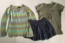 Zara & Guess Youth Girls Lot of 3 Mix/Match Sweater, T-Shirt, Skirt S(7-8) Kids