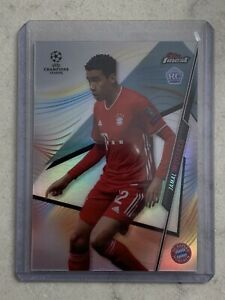 2020-21 Topps Finest Champions League Jamal Musiala Refractor RC