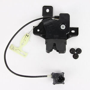 2007 - 2009 Ford Fusion Trunk Latch Lid Lock Actuator Lincoln MKZ Milan 2335