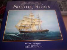 Great Classic Sailing Ships (hardback)-Giggal, Kenneth-1851525696