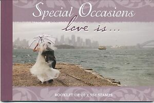Australian Stamps: 2008 Special Occasions - Love is... - Prestige Booklet