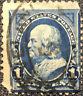 Scott #246 US 1894 1 Cent Franklin Bureau Postage Stamp