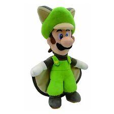 """Super Mario Flying Squirrel Luigi 15"""" Plush Toy"""