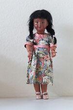 """Bleuette 301 Métisse    """"I""""     29 cm  Poupée ancienne reproduction Antique Doll"""
