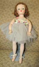 "Madame Alexander Elise Ballerina 1957 #1635  16"" Tall"