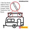 1 Pair Gas Struts 300mm long x 175N Caravan Camper Trailer Tradesmen Tool Boxes