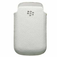 Genuine OEM Blackberry HDW-31343-002 Leather Pocket Pouch Case For Blackberry...