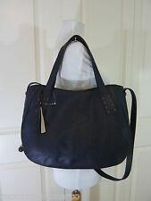 NWT Radley London Black Leather Coniston Shoulder Bag/Tote $298 - SO CUTE!!!