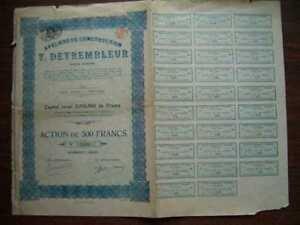 Ateliers de Construction T.Detrembleur 500 FR Share 1923