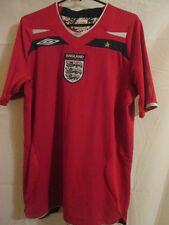 England 2008-2010 Away Football Shirt Size Medium Adult M Jersey /39502