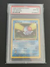 Tentacool | PSA 10 GEM MINT | 1999 Fossil 1st Edition #56 | Pokemon