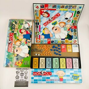Family Guy Monopoly 2006 Collectors Edition Board Game 100% Complete