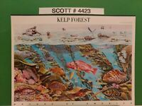 Scott # 4423 - Nature of America - Kelp Forest - Sheet of (10) 44 Cent Stamps