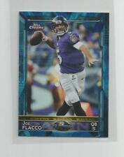 2015 Topps Chrome Mini  JOE FLACCO  Blue Diamond Refractor