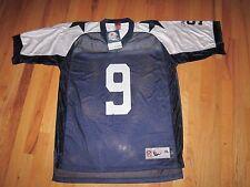 DALLAS COWBOY'S TONY ROMO NFL JERSEY - #9 - REEBOK - XL - AUTHENTIC - SEE PICS