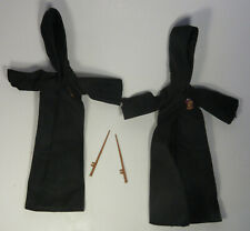 Pair of Mattel Harry Potter Fashion Doll Clothes Gryffindor Robes Wands Hermoine