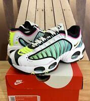 Nike Air Max TailWind 4 GS Shoes White/Black-China Rose BQ9810-102 Multi Sizes